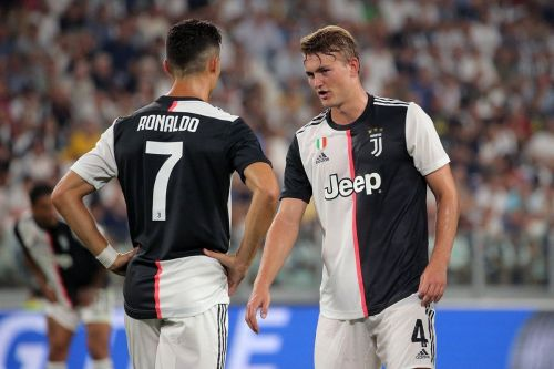 De Ligt is a self-confessed fan of his teammate Cristiano Ronaldo