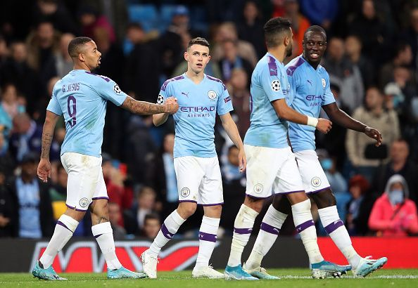 Manchester City edged past Dinamo Zagreb