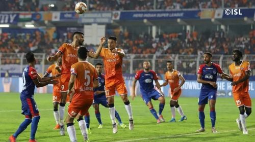 NorthEast United FC are set to lock horns with FC Goa today. (PC: ISL)