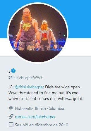 Harper's deleted bio