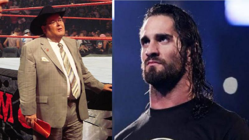 Jim Ross and Seth Rollins
