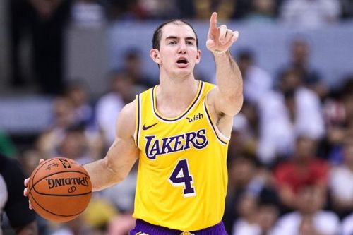 Alex Caruso is expected to play a key role in the Lakers' rotation