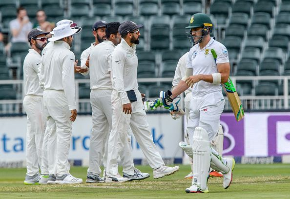 3rd Sunfoil Test: South Africa v India, Day 2