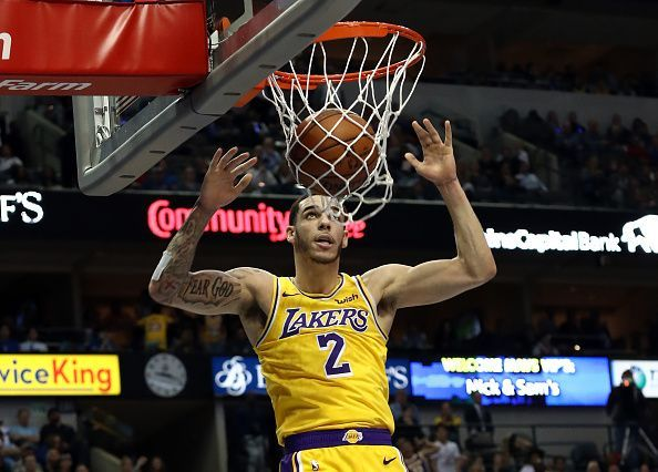 Lonzo Ball was traded to the Pelicans after spending two seasons with the team