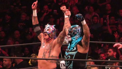 The Lucha Bros defeated Private Party this week