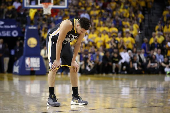 Klay Thompson was injured during Game 6 of the 2019 NBA Finals