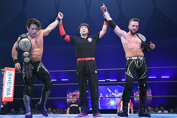 The current IWGP Jr. Heavyweight tag team champions will be competing in this year