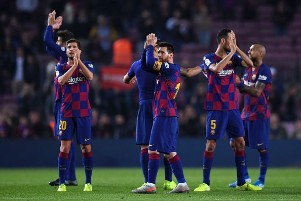 Barcelona convincingly defeated Real Valladolid