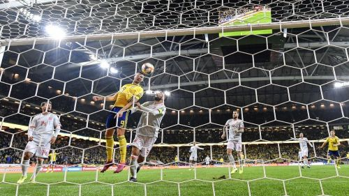 Berg broke the deadlock in the second-half, where Sweden were unfortunate not to snatch all three points