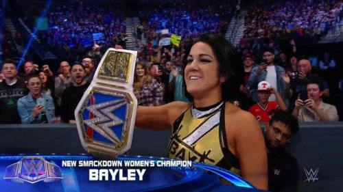 Bayley's new look helped her to win the SmackDown Women's Championship