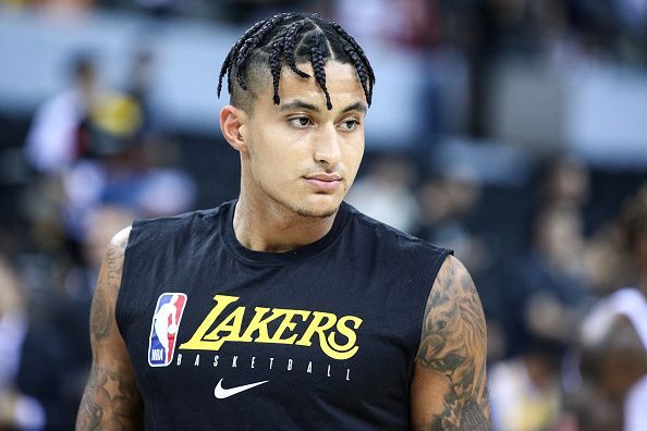 Kyle Kuzma has yet to feature for the Los Angeles Lakers this season