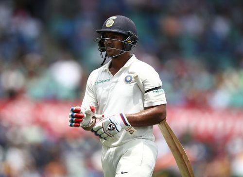 Mayank Agarwal recorded his second consecutive century