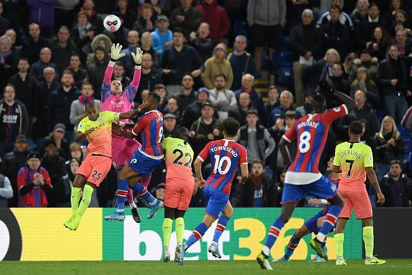 Ederson had a good game, the highlight of which was a stunning save to deny Christian Benteke.