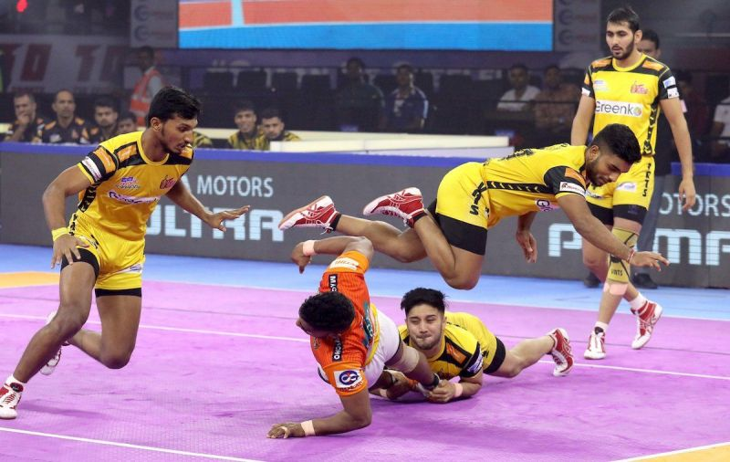 Puneri Paltan ruin the chance of entering the playoffs for the Telugu Titans