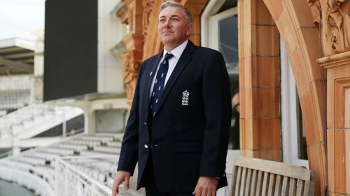 England head coach Chris Silverwood at Lord's.