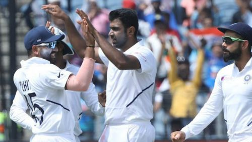 Ravichandran Ashwin impressed for India on day three against South Africa