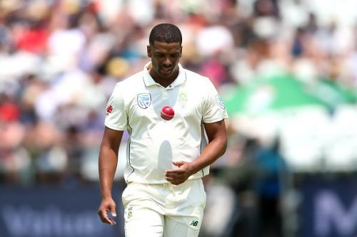 Philander was Rabada's partner in crime on day two