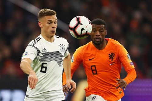 Kimmich's reading of the game prevented plenty of counter attacks