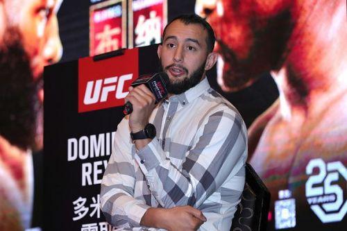 Dominick Reyes wants a shot at the UFC light heavyweight title.