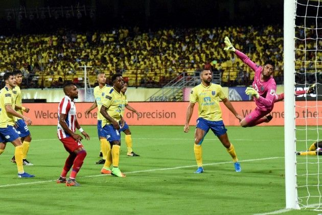 Despite conceding one goal to ATK, the Blasters defenders looked solid