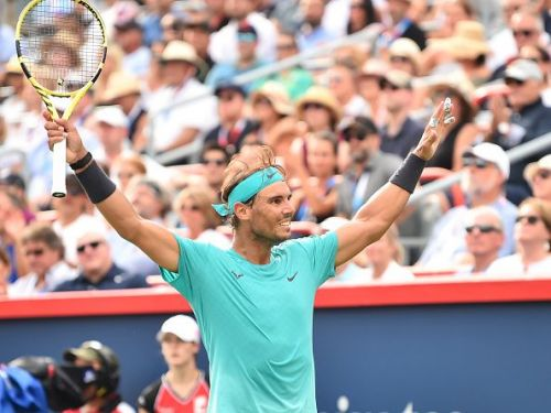 Rogers Cup Montreal 2019 champion: Rafael Nadal.