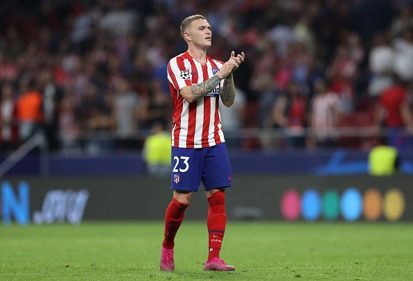 Trippier switched Tottenham for Atletico Madrid in the summer