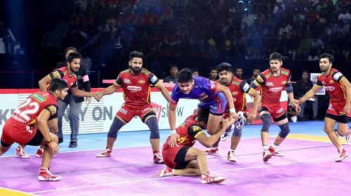 Both Dabang Delhi and Bengaluru Bulls feature in this list