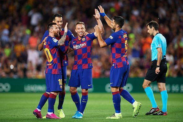 Barcelona will be looking for their third straight league victory when they host Sevilla later today