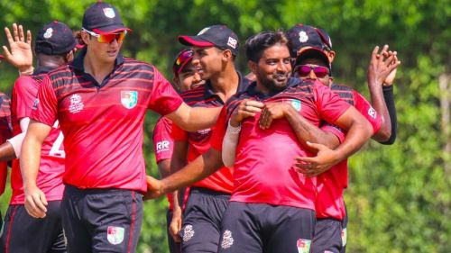 सिंगापुर ने स्कॉटलैंड को हराकर किया उलटफेर (Photo: Cricinfo)