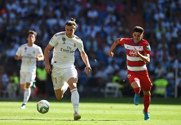Bale (L) set up Benzema
