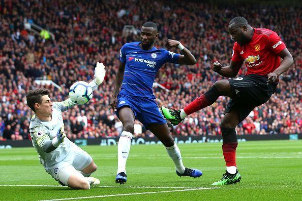 Romelu Lukaku represented both Manchester United and Chelsea