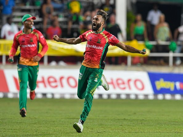 Jamaica Tallawahs v Guyana Amazon Warriors - 2019 Hero Caribbean Premier League (CPL)