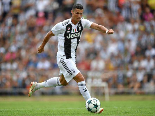 Ronaldo in action for Juventus.