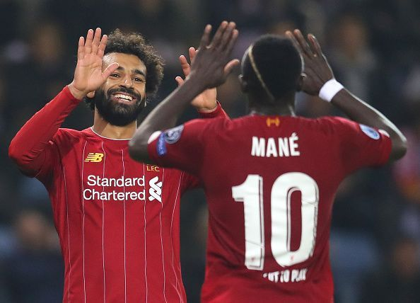 Mohamed Salah laid on as assist for Sadio Mane, before completing the scoring himself