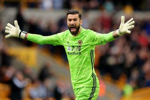 Wolverhampton Wanderers's Rui Patricio.