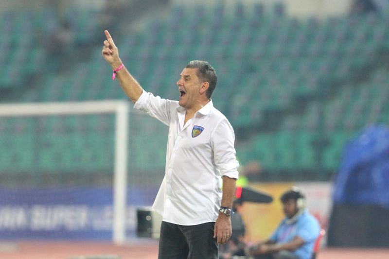 John Gregory is looking to get the first win of the season for Chennaiyin