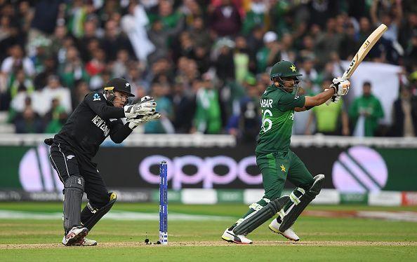 Azam batting