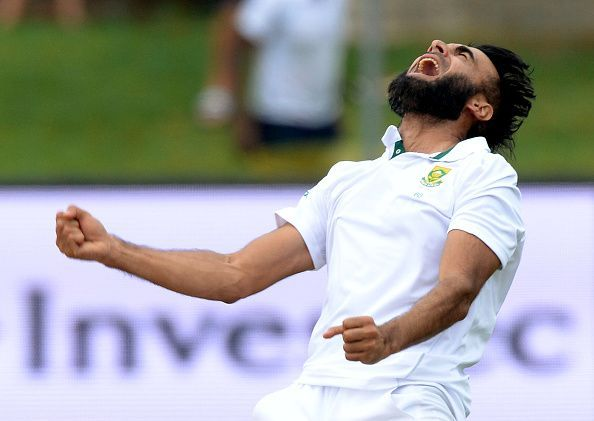 Imran Tahir played four matches in India