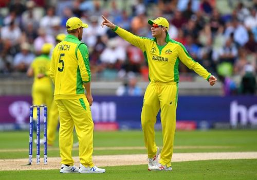 Aaron Finch and Steve Smith