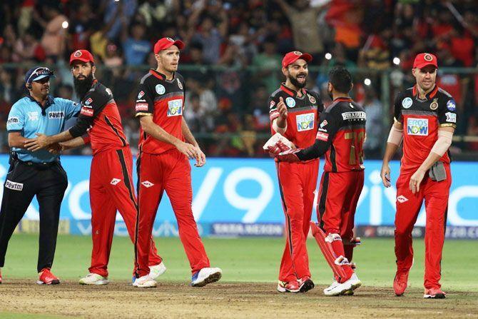 रॉयल चैलेंजर्स बैंगलोर की टीम