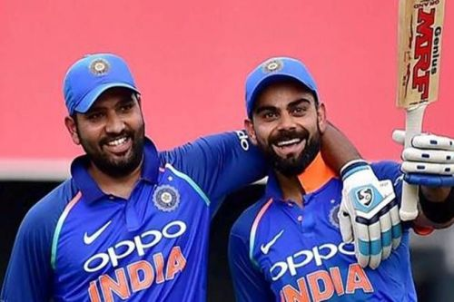 Rohit and Kohli are two of India's most successful batsmen of the modern era