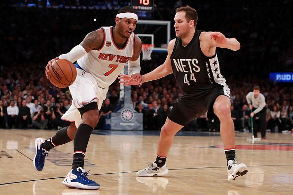 Carmelo enjoyed a memorable spell in New York with the Knicks
