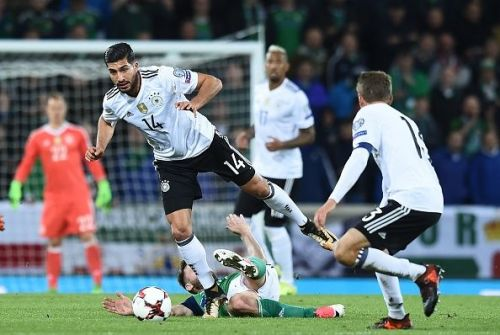 Emre Can's early sending off put Germany under pressure