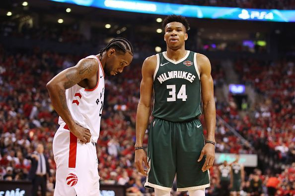 Kawhi Leonard got the better of Giannis Antetokounmpo in Game 3 of the East Finals