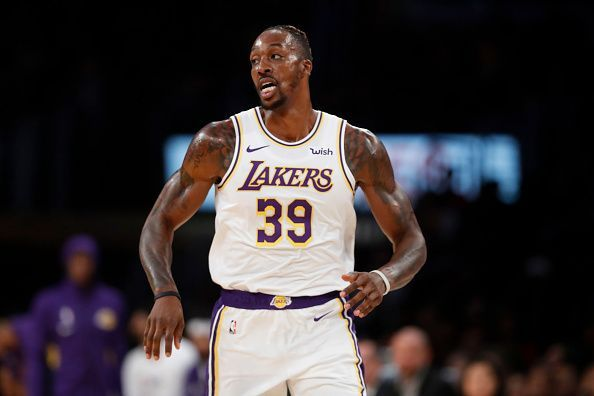 Dwight Howard has struggled during his first two appearances with the Los Angeles Lakers