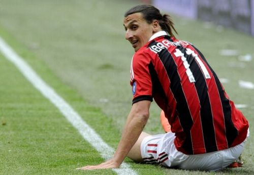 Ibrahimovic played two seasons with AC Milan before making a move to PSG.