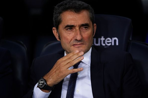 Valverde has almost guided Barcelona to the UCL knockout rounds