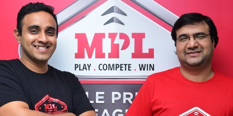 Sai Srinivas (left) and Shubh Malhotra, Co-Founders - Mobile Premier League