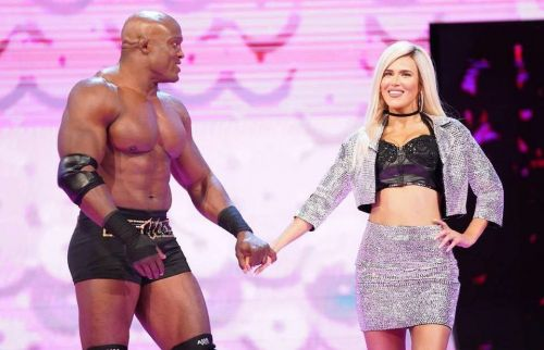 Bobby Lashley and Lana returned to WWE television and embraced in front of Lana's husband, Rusev
