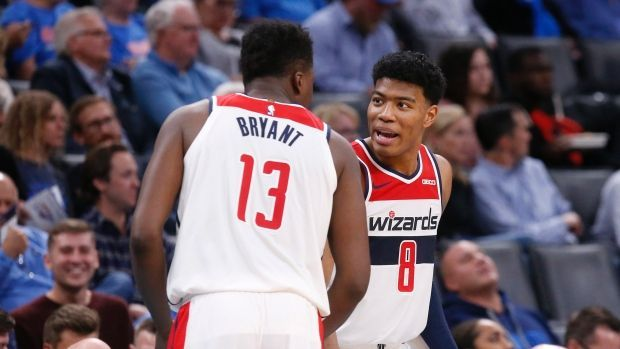 The Wizards got their maiden win of the campaign against the Thunder.